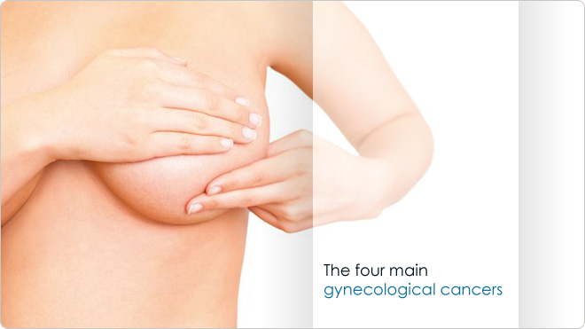 The four main gynecological cancers